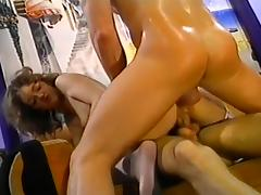Incredibly Lusty Babe in Group Sex