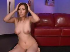 Cute natural tits Asian dame publicly banged hardcore