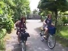 fucking on the bike