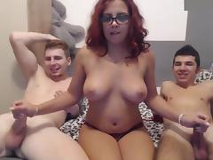 Hot Threesome Sex