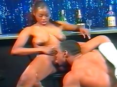 An Ebony Girl Fucks To Get A Dancing Job