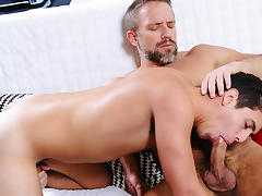 Dirk Caber & Dylan Drive in Neighbors Part 4 - DrillMyHole