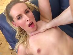 Mom suck and takes huge cock deep in her cunt