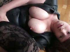 Big Tits, Amateur, Big Tits, Brunette, German, Lingerie