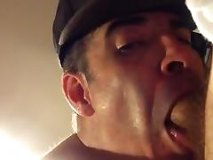 Throating a 9 inch dick