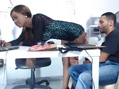 Chaturbate Webcam Latina Couple Having Fun