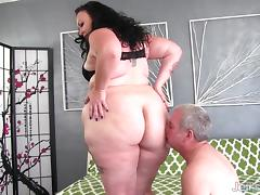 Put your face in my fat ass and fuck me