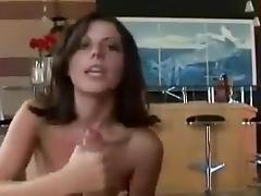 Amazing Amateur movie with Big Dick, Brunette scenes