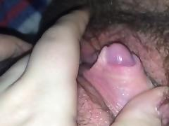 Big Clit, Big Clit, Clit, Hairy, Huge, Shemale
