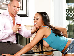 Anya Ivy & Marcus London in My New White Stepdaddy #15, Scene #04 - DevilsFilm