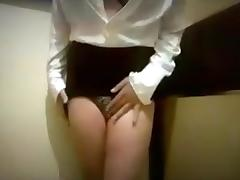 Crossdresser: Touching Myself
