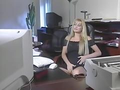 Best pornstar Eva Henger in crazy blonde adult clip