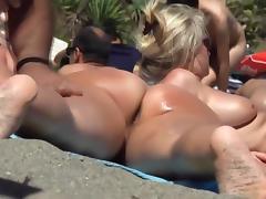 Beach, Amateur, Ass, Beach, Big Tits, Outdoor