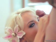 Blonde Fellucia New Sucking Style