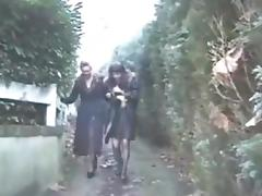 Mature lesbians fisting french style