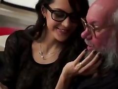 Sensual Slut Rimjob Prostate Babe Drains Balls Old fella