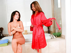 Kina Kai & Capri Cavanni in A Lesbian Seduction #11 - MileHighMedia