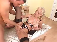 Horny pornstar in crazy blonde, milfs porn scene