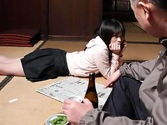 Father, Angry, Asian, College, Fingering, Japanese