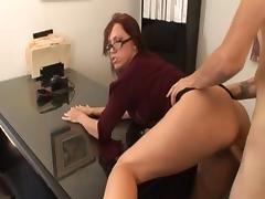 All, Big Tits, Blowjob, Facial, Office, Pornstar