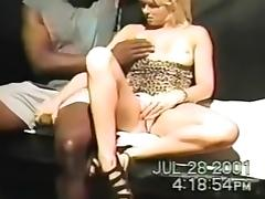 Bitch, Bitch, Blonde, Blowjob, Drilled, Interracial