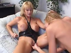 Horny pornstars Lisa Marie and Kat Kleevage in best dildos/toys, blowjob xxx movie