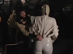 Fabulous pornstars Jean Bardot and Mistress Sandra in amazing bdsm, brunette xxx video