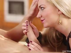 Horny blonde Czech Wife on display