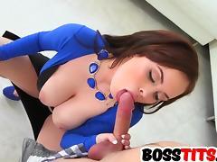 Rocking Busty Roxii Blair Hard