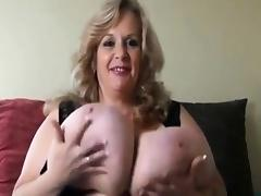 SuzieQhasbigboobs plays with unreal massive boobs BBW-sexY