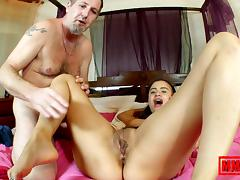 Alice Axx & Terry in Going hard on a hardcam   - MMM100