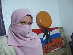 Sandra zemanova deguisement arabe