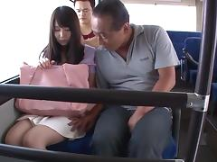 Hot reality sex in the bus