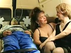 Crazy Amateur clip with Close-up, Threesome scenes