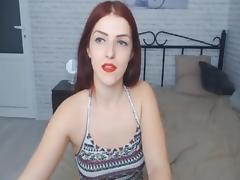 Redhead babe gets banged