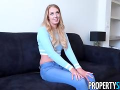 PropertySex - Hot criminal tenant fucks landlord