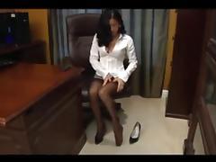 Office feet worship pt 1