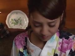Rei Mizuna, aSian wife, drilled in really hot manners