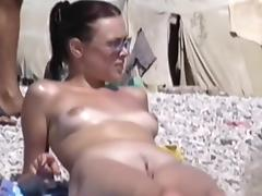 Horny Homemade movie with Small Tits, Beach scenes