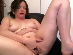 Incredible webcam College, Masturbation movie with StripAndAction model.