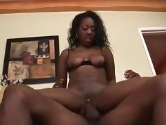 Crazy pornstar in incredible cumshots, black and ebony sex video