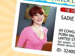 WANKZ- Teen Redhead Sadie Kennedy
