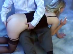 Insatiable blonde wants her lover to play with her while sh