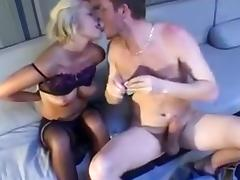 Fabulous Homemade clip with MILF, Stockings scenes