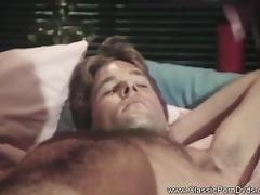 Classic Retro Interracial Blowjob