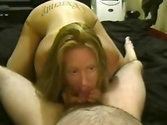 Hot redhead loves to suck cock