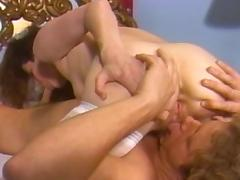 Fabulous pornstar Siobhan Hunter in crazy cunnilingus, vintage porn scene