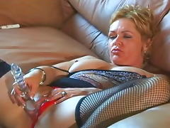 Fabulous pornstar Kelly Leigh in incredible dildos/toys, blonde porn video