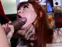 Interracial anal whip cream and extreme choking rough sex Pe