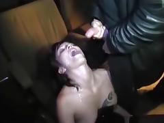 Bukkake Session im Pornokino